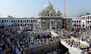 Military officers of 45 countries visit Gurdwara Panja Sahib