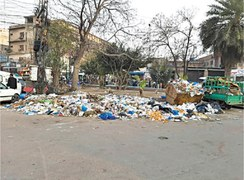 Crisis-ridden LWMC fails to keep city clean
