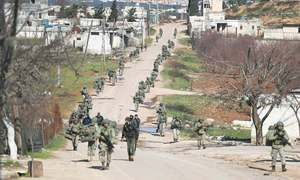 Five Turkish troops killed in shelling by Syrian army