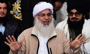 کیپیٹل انتظامیہ نے زمین کیلئے مولانا عبدالعزیز کا مطالبہ حکومت کو بھجوادیا