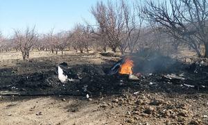 خیبرپختونخوا: پاک فضائیہ کا تربیتی طیارہ گر کر تباہ