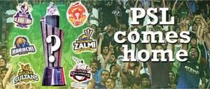 PSL comes home