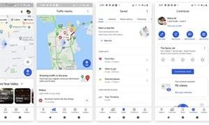 گوگل میپس کی سب سے بڑی اپ ڈیٹ اب صارفین کو دستیاب