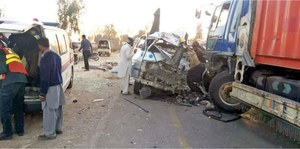 Eight killed in Fatehjang road accident
