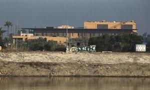 Rocket attack hits near US embassy in Iraq capital: US and Iraqi militaries