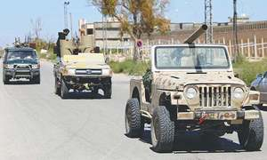 Major players in Libya strife pledge to uphold arms embargo