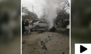 کوئٹہ میں عدالت روڈ کے قریب دھماکا