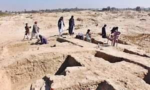 PU team joins excavation project at Gupta-era site