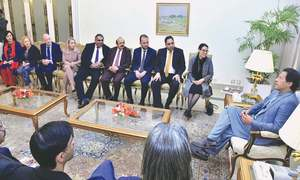 PM calls for world pressure on India over Kashmir
