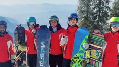 International snowboarding competition kicks off in Malam Jabba