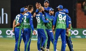 پی ایس ایل: ملتان سلطانز نے لاہور قلندرز کو 5 وکٹوں سے شکست دے دی