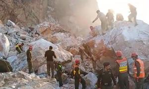 9 labourers killed in marble mine slide in KP's Buner