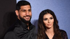 Amir Khan and Faryal Makhdoom are now a family of five