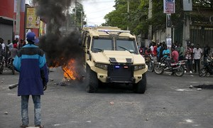 Haiti capital on lockdown after police attack army HQ