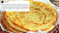 The paratha has been called the Asian flat croissant and we can't deal