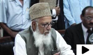 سابق سٹی ناظم کراچی نعمت اللہ خان طویل علالت کے بعد انتقال کرگئے