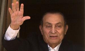 مصر کے سابق صدر حسنی مبارک 91برس کی عمر میں انتقال کر گئے