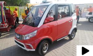 کراچی میں ماحول دوست الیکٹرک گاڑیاں متعارف