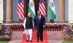 صدر ٹرمپ کا دورہ بھارت: خطے میں مفادات کے نئے کھیل کا آغاز