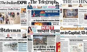 'Gujarat model reaches Delhi': How Indian newspapers reported Delhi violence