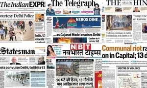 'Gujarat model reaches Delhi': How Indian newspapers reported Delhi violence