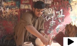 کراچی میں کم عمر آرٹسٹ کی کمال مہارت