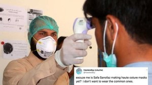 Twitter can't cope with increasing mask prices as coronvirus hits Pakistan