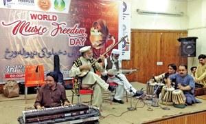 Artists ask govt to rebuild music street in Peshawar