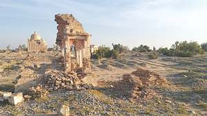 EFT faces resistance in restoration work on Mir Allahyar Talpur tombs