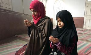 Peshawar's historic Sunehri mosque opens doors to women after 23 years