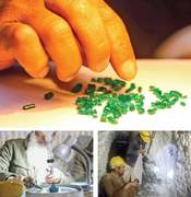 Swati emerald being marketed internationally as Indian product