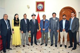 Diplomatic Calendar: Kyrgyz embassy hosts session