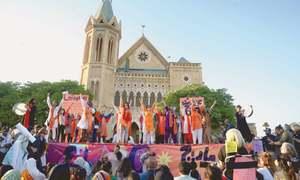 Aurat March participants air grievances through placards