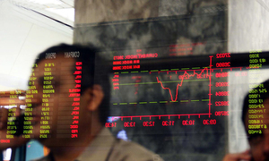 Foreign selling causes market jitters