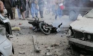 چمن میں دھماکا، قبائلی رہنما زخمی