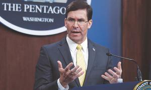 Coronavirus forces US defence chief to postpone visit to Pakistan, India
