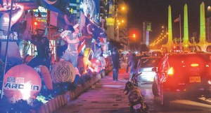 PSL's glamorous return to Karachi