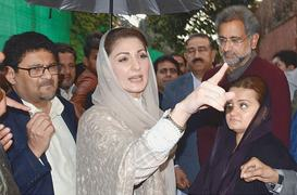 Maryam breaks silence, vows to fight for 'civilian supremacy'