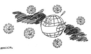Cartoon: 14 March, 2020
