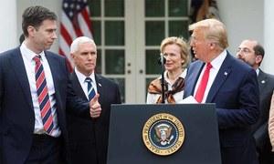 امریکا میں قومی ایمرجنسی نافذ، ٹرمپ کا یومِ دعا منانے کا اعلان
