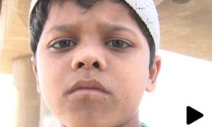 کراچی کا 8 سالہ بچہ محنت میں عظمت کی مجسم مثال بن گیا