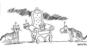 Cartoon: 16 March, 2020