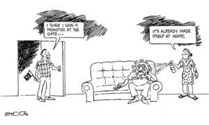 Cartoon: 17 March, 2020