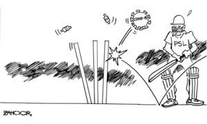 Cartoon: 18 March, 2020