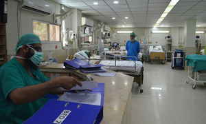 Hundreds throng Karachi hospitals with flu-like symptoms