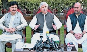 KP govt bans indoor gatherings, orders closure of eateries, barbershops