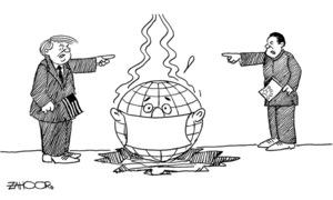 Cartoon: 19 March, 2020