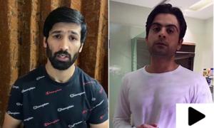 کورونا وائرس سے آگاہی کے لیے قومی کھلاڑیوں کے ویڈیو پیغامات