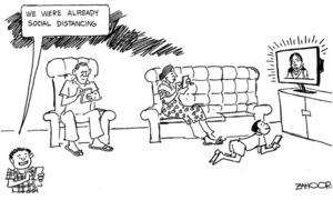 Cartoon: 20 March, 2020