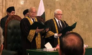 PHC chief justice opposes Naqvi's elevation to SC